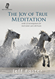 The Joy of True Meditation: Words of Encouragement for Tired Minds and Wild Hearts (English Edition)