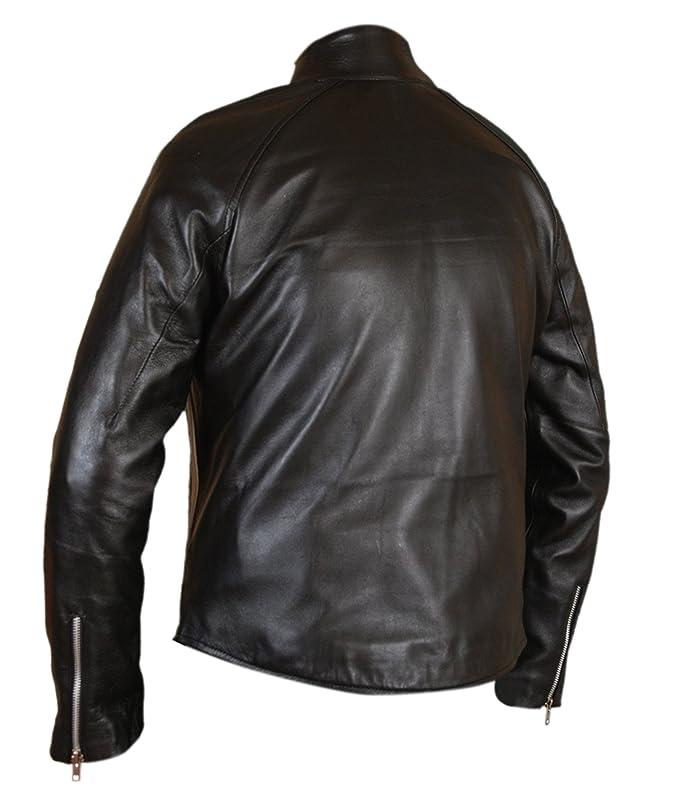 F&H Mens Genuine Leather Amazing Spider-Man Venom Spiderman Jacket