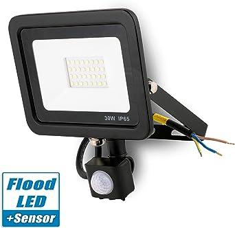 Popp Foco con Sensor Movimiento 30W Proyector LED Exterior ...