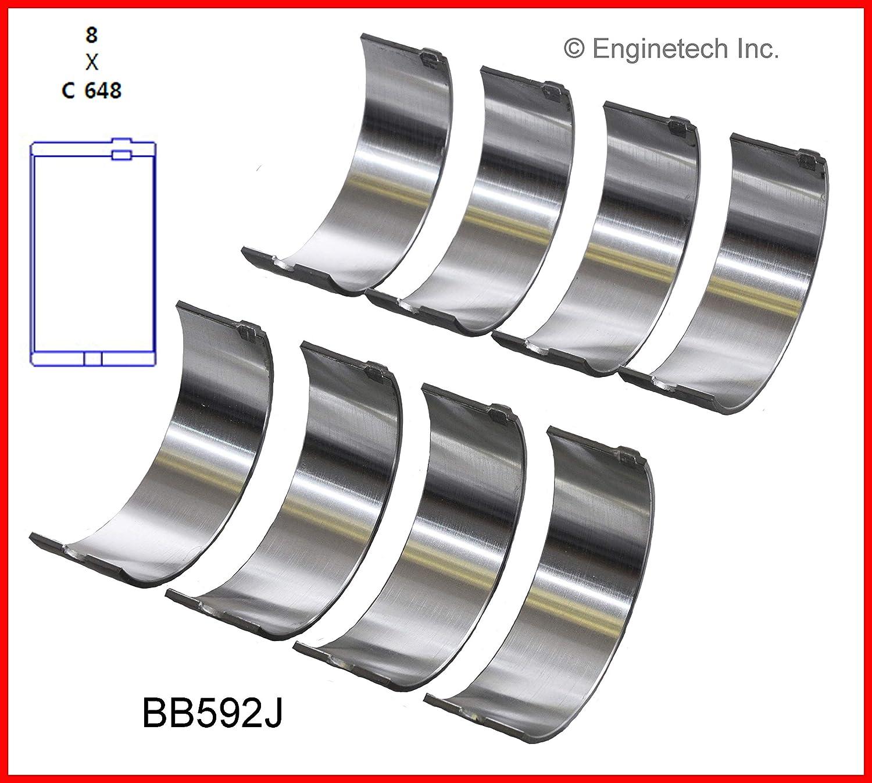 Enginetech BB592J010 Rod BRNG AMC CHRY 2.5L 150