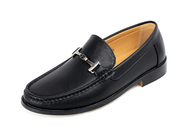 TALLA 41 EU. Hombre Conducción Zapatos Sin Cierres Mocasines Casuales Inteligentes Mocasín De Cuero