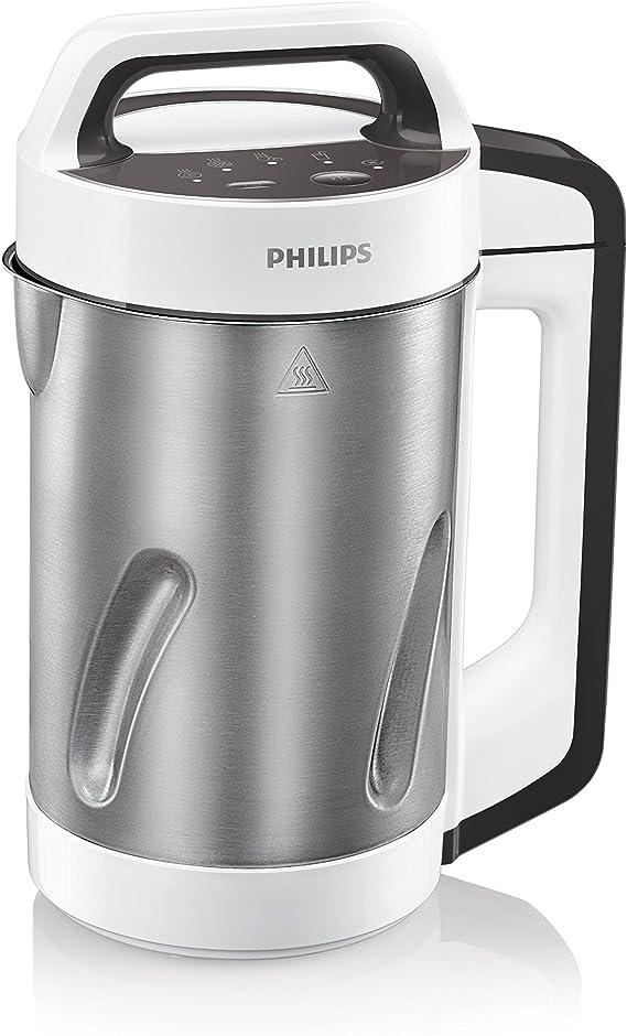 Philips HR2201/8 - Batidora para sopas (acero inoxidable, 990 W, 1 ...