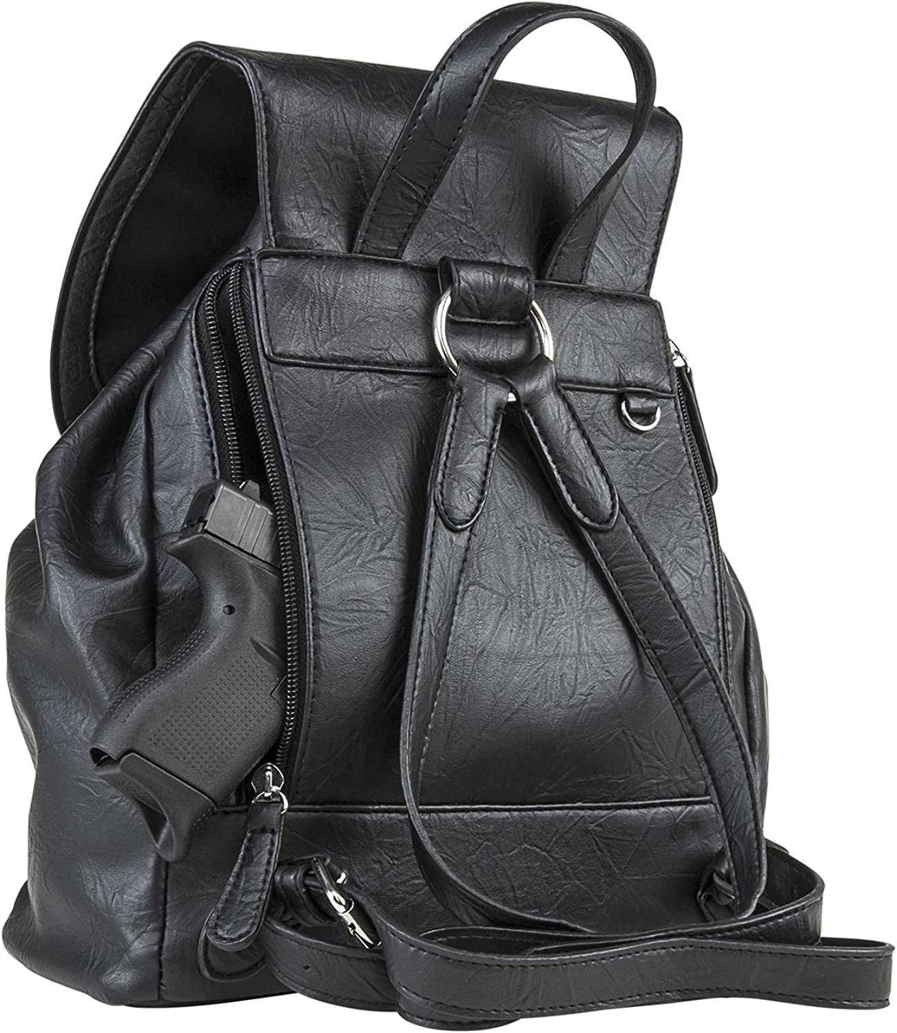 Universal Holster Black CCW Concealed Carry Backpack