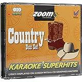 Zoom Karaoke CD+G - Country Superhits - Triple CD+G Karaoke Pack