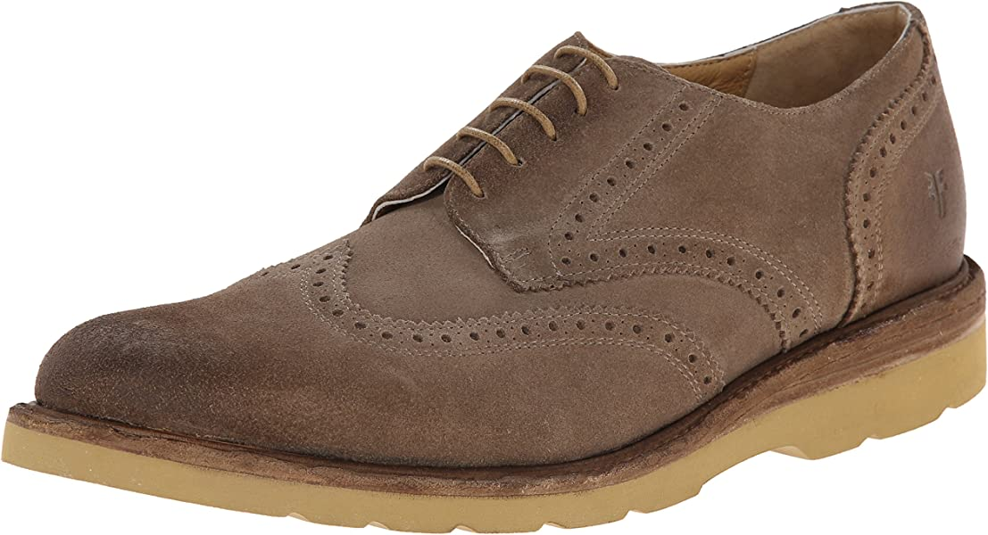 42a146506907 FRYE Men s Jim Wedge Wing Tip Oxford