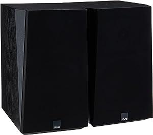 SVS Ultra Bookshelf Speaker (Pair) - Black Oak Veneer