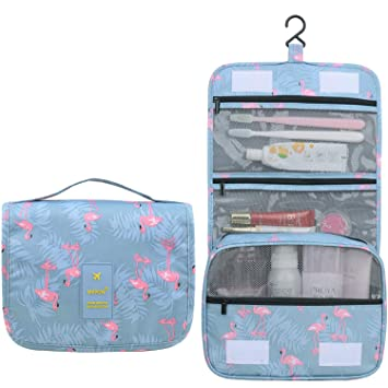 32b5f92d2ba2 Hanging Travel Toiletry Bag cute makeup bag Portable cosmetic Pouch  Waterproof Organizer case...