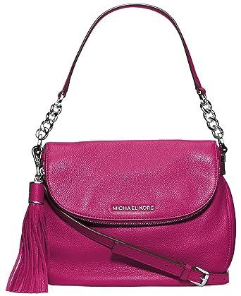 38c6db0a4fab Amazon.com: MICHAEL Michael Kors Bedford Medium Convertible Shoulder Bag in  Deep Pink: Michael Kors: Shoes