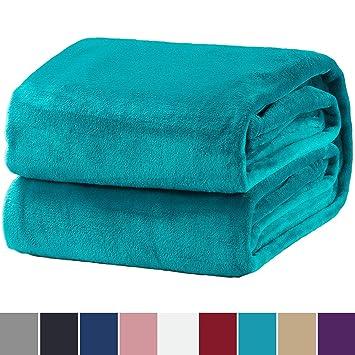 Bedsure Kuscheldecke Türkis Flauschige Decke Extra Weich Warm Wohndecke In Wohnzimmer 150x200 Cm Flanell Fleecedecke Falten