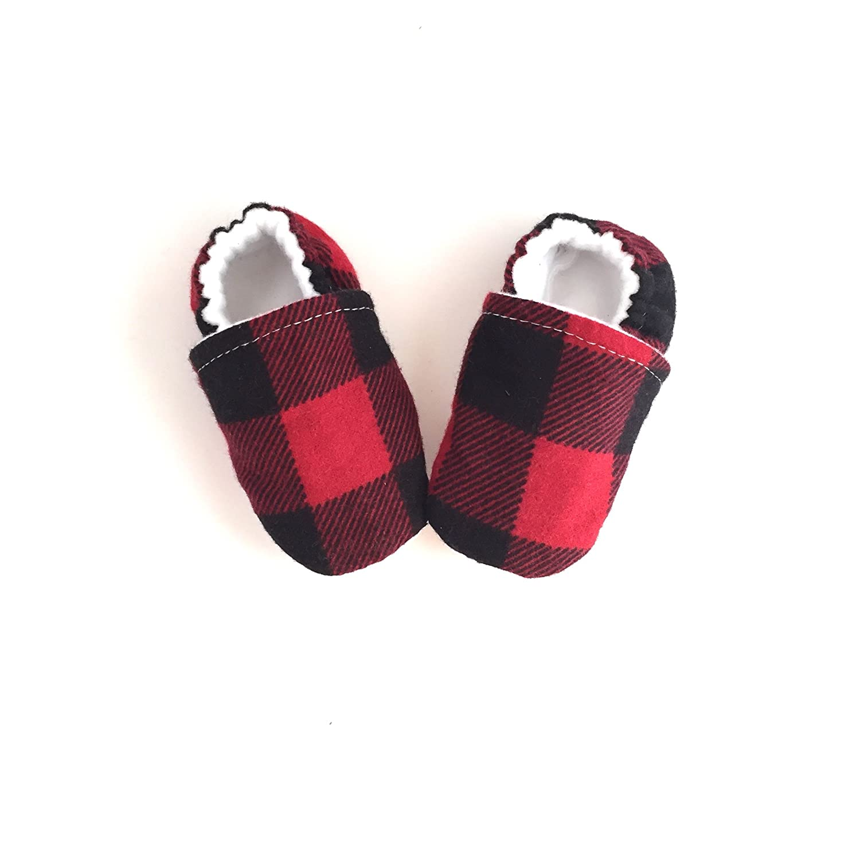 Amazon.com: Buffalo Plaid Baby Shoes