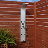 Signature Hardware 400735 Harlingen Outdoor Shower Panel with Hand Shower and Six Jet Bodysprays