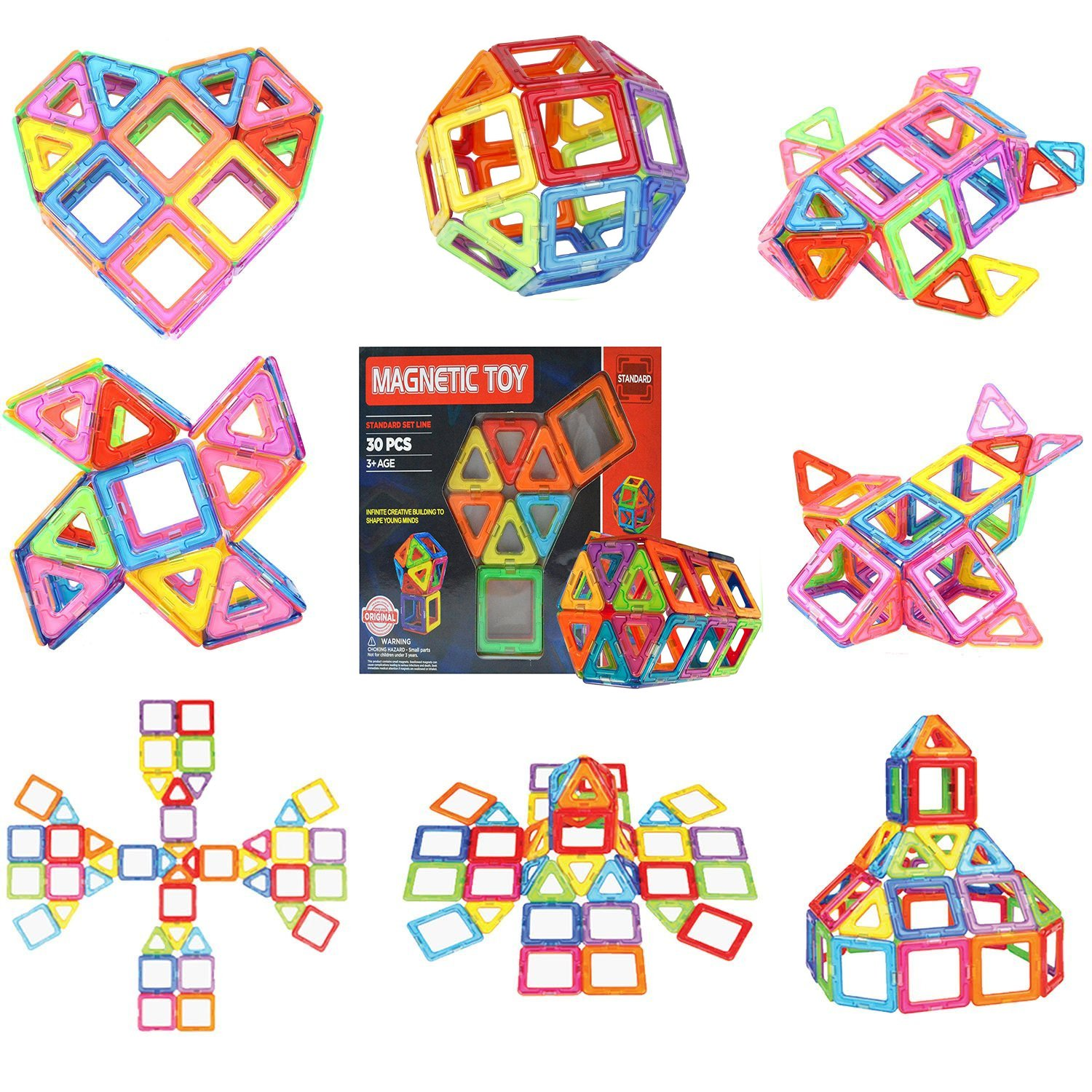 Singo Magnetic Toys Building Blocks Standard Set (30-pieces) Review