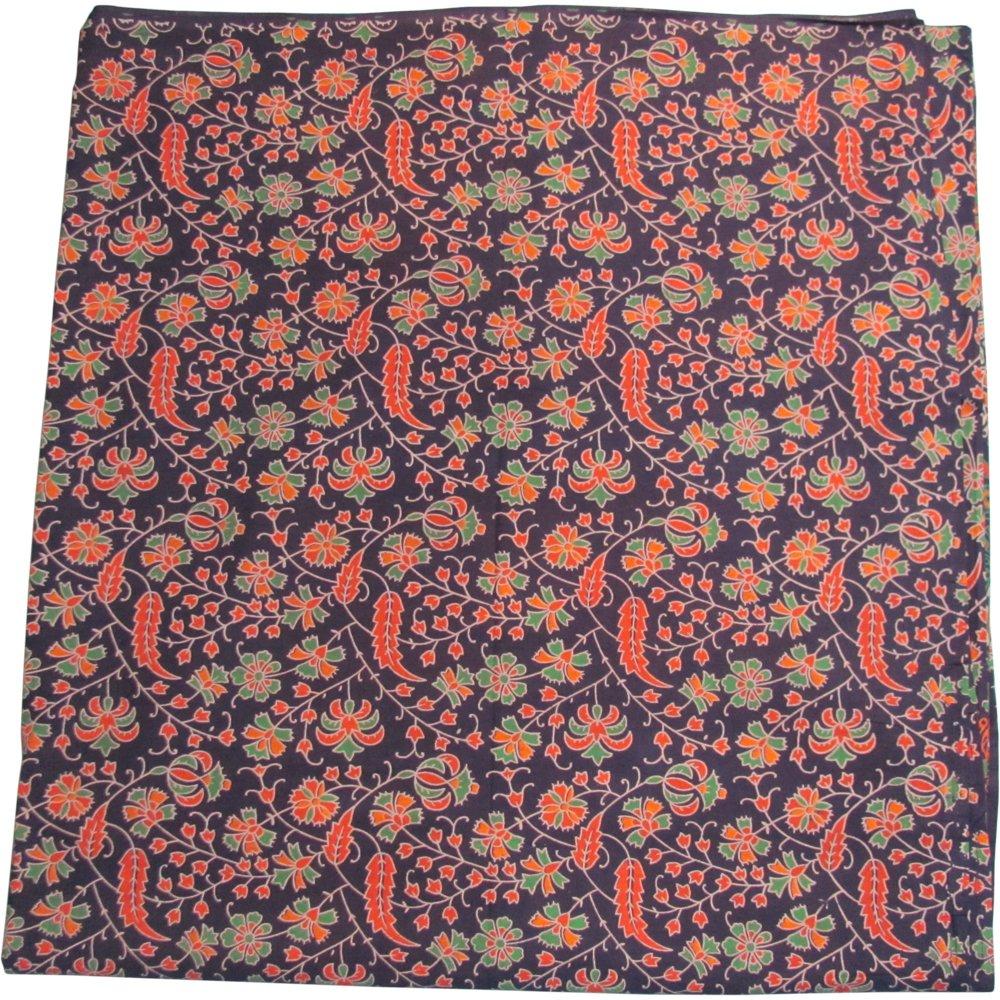 Bohemian Peacock Paisley Print Cotton Bedspread Bedding 3 Pcs Set King Size by Padma Craft (Image #3)