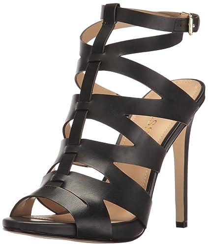 e486cc77e78 GUESS Women s Alyah Heeled Sandal
