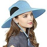 EINSKEY Cappello Pescatore Uomo Donna Tesa Larga Bucket Hat Impermeabile Cappelli Sole Antivento Pieghevole per Viaggio, Caccia, Safari