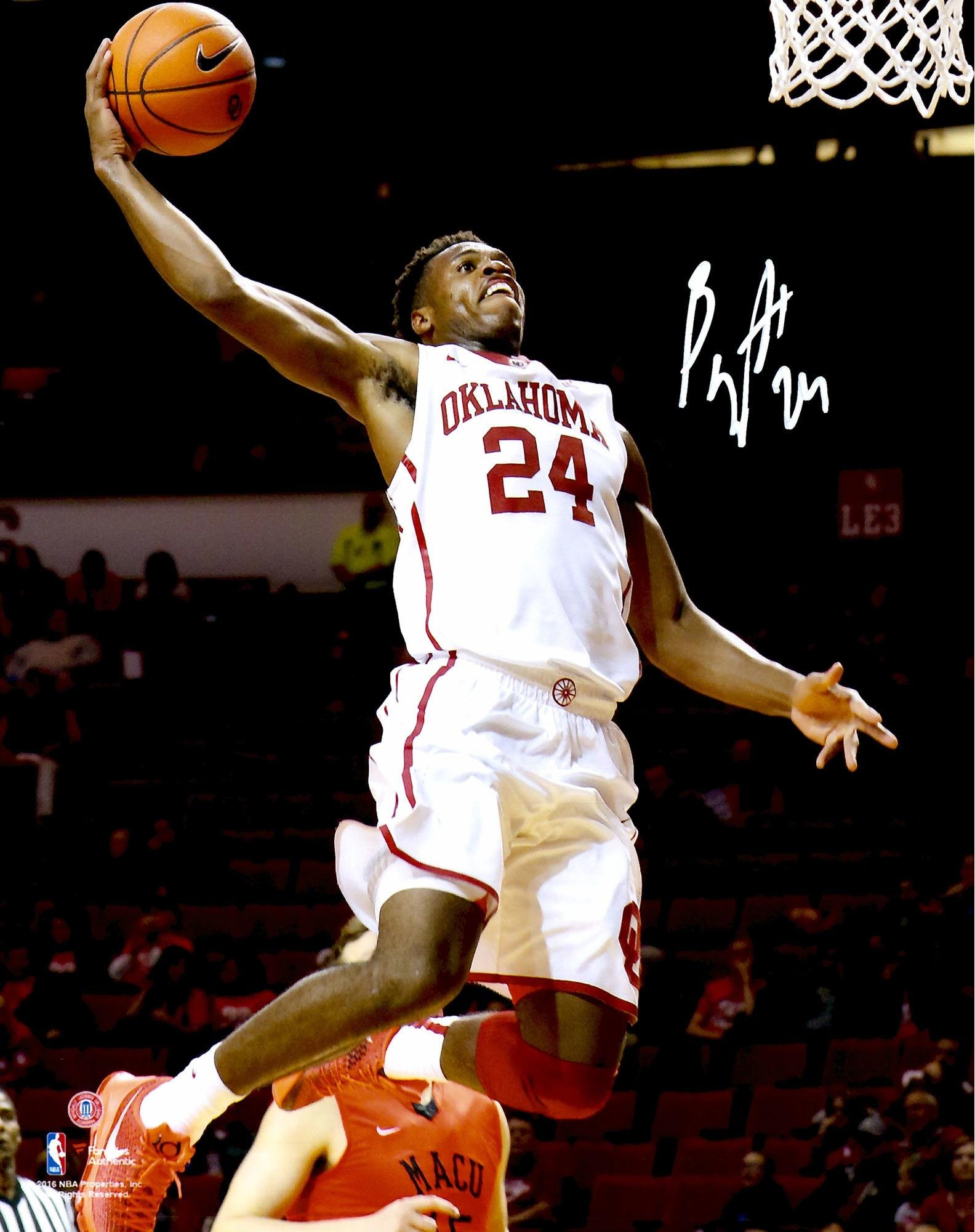 "Buddy Hield Oklahoma Sooners Autographed 8"" x 10"" Dunking Photograph Fanatics Authentic Certified Autographed College Photos"