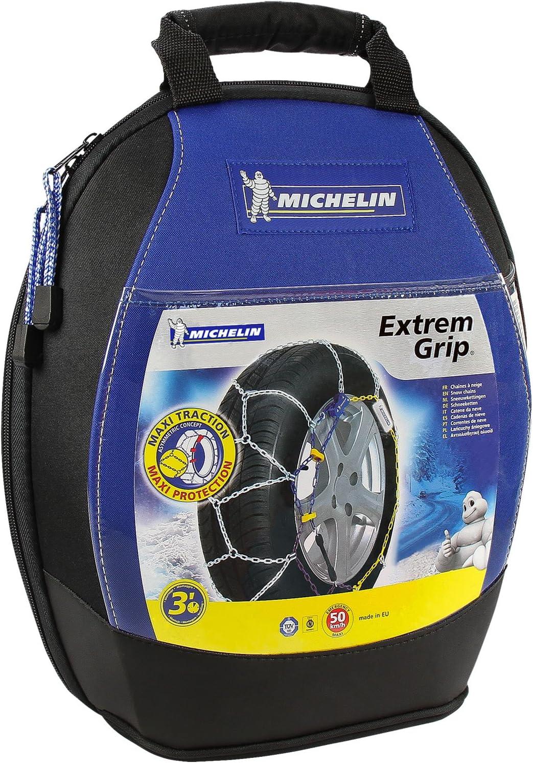 certifi/ées T/ÜV//GS et /ÖNORM Michelin 92307 Cha/înes /à neige M1 avec syst/ème Extrem Grip 59 2 pi/èces compatibles ABS et ESP