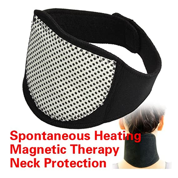 Collarin de Turmalina Terapeutico para el Dolor Cuello Vertebras Cervicales 4215_salud: Amazon.es: Salud y cuidado personal