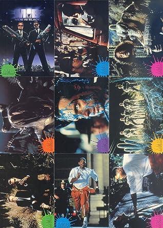 Men In Black Mib 1997 Inkworks Complete Base Card Set Of 90