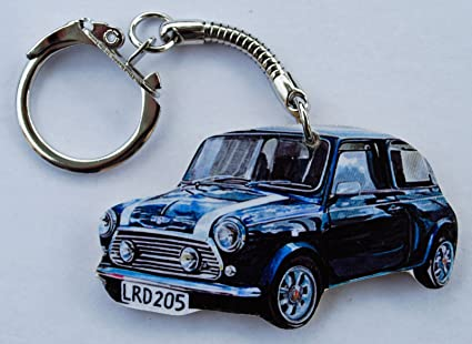 A39K Llavero de Mini Cooper, color azul: Amazon.es: Hogar