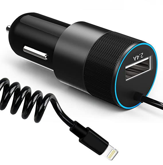 Amazon.com: iPhone Car Charger, Aonear 24W/4.8A Car Charger Adapter ...