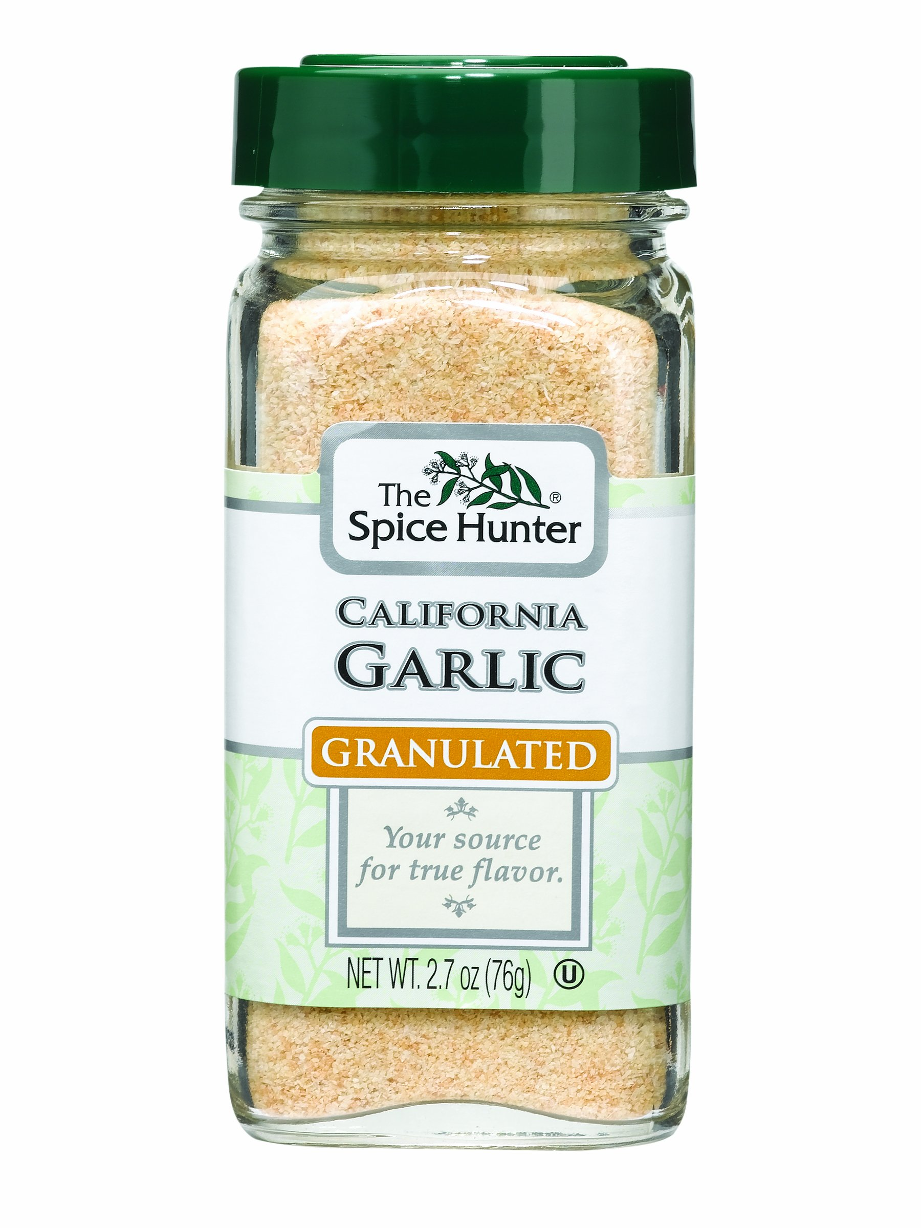The Spice Hunter Garlic, California, Granulated, 2.7-Ounce Jars (Pack of 6)