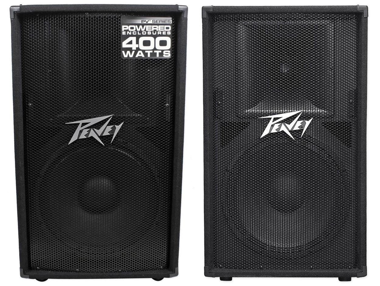 Peavey Pv115d 15 Active Speaker Pv115 Slave Guitar Or Music Amplifier Home Stereo Powered Subwoofer From Master Musical Instruments