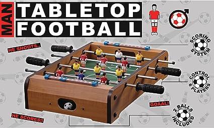 BUNKERBOUND BBTrade Sales - Futbolín (para Colocar sobre la Mesa): Amazon.es: Juguetes y juegos