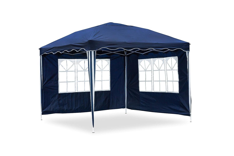Amazon.de: JOM 127116 Gartenpavillon Falt-Pavillon, 3 x 3 m, blau