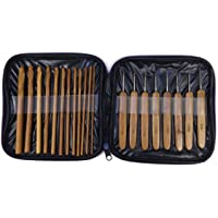 Estojo agulhas de Bambu – kit com 20 unidades