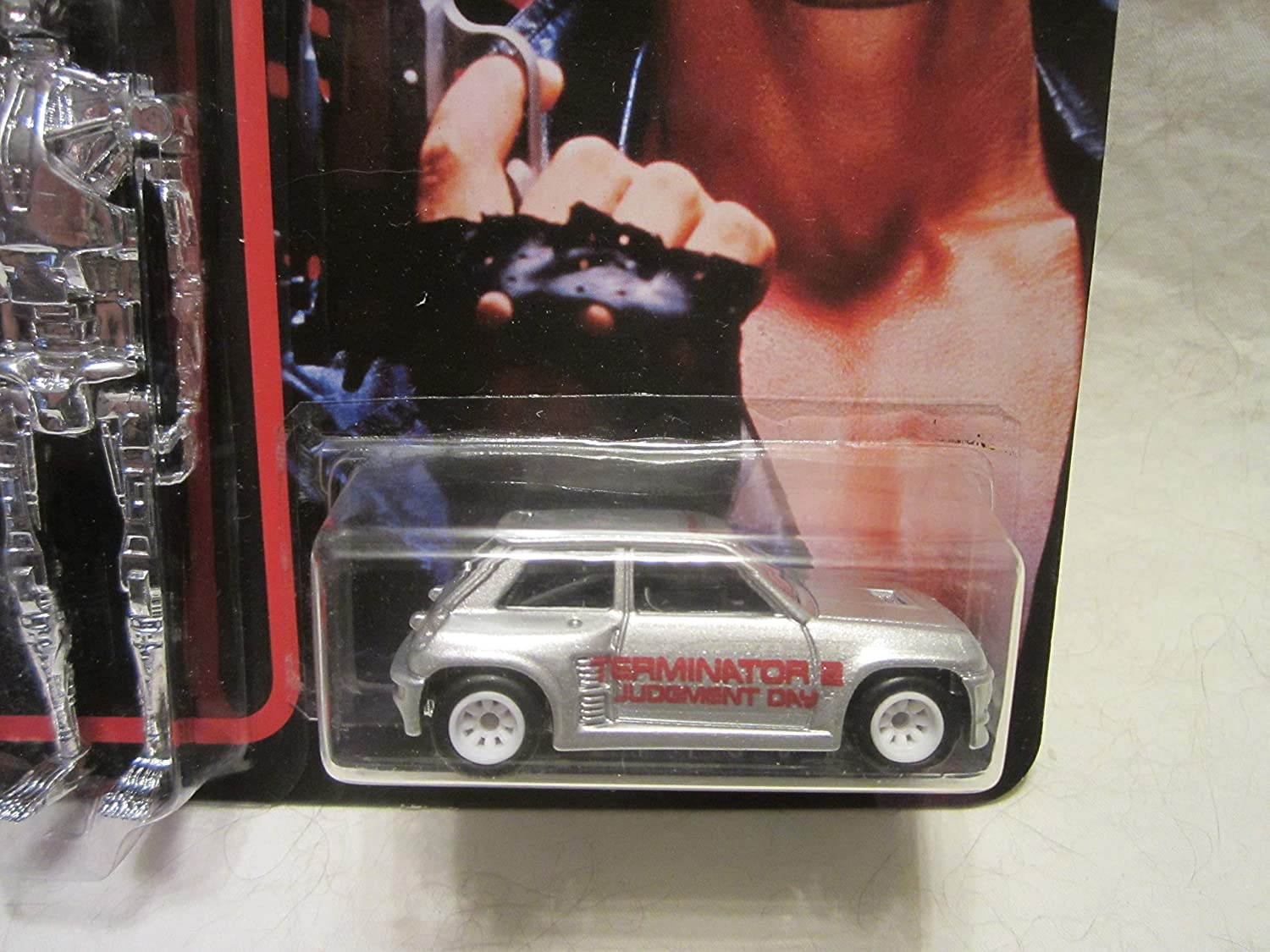 Amazon.com: Hot Wheels Custom Renault 5 Turbo - The Terminator Real Riders Rubber Wheels Collectible Die Cast Car Model 1:64 Scale Limited Edition!: