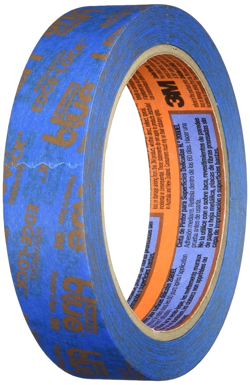 Scotchblue 2080EL-24N Painter's Masking Tape with New Generation Edge Lock for Delicate Surfaces - Blue 3M 2080EL-24CXS