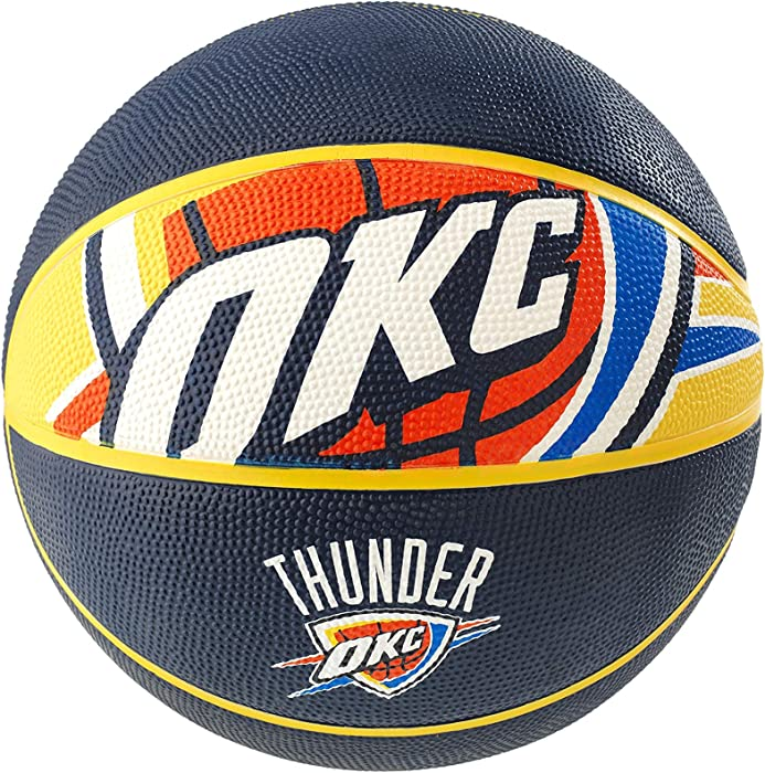 Spalding NBA Oklahoma City Thunder Courtside Rubber Basketball