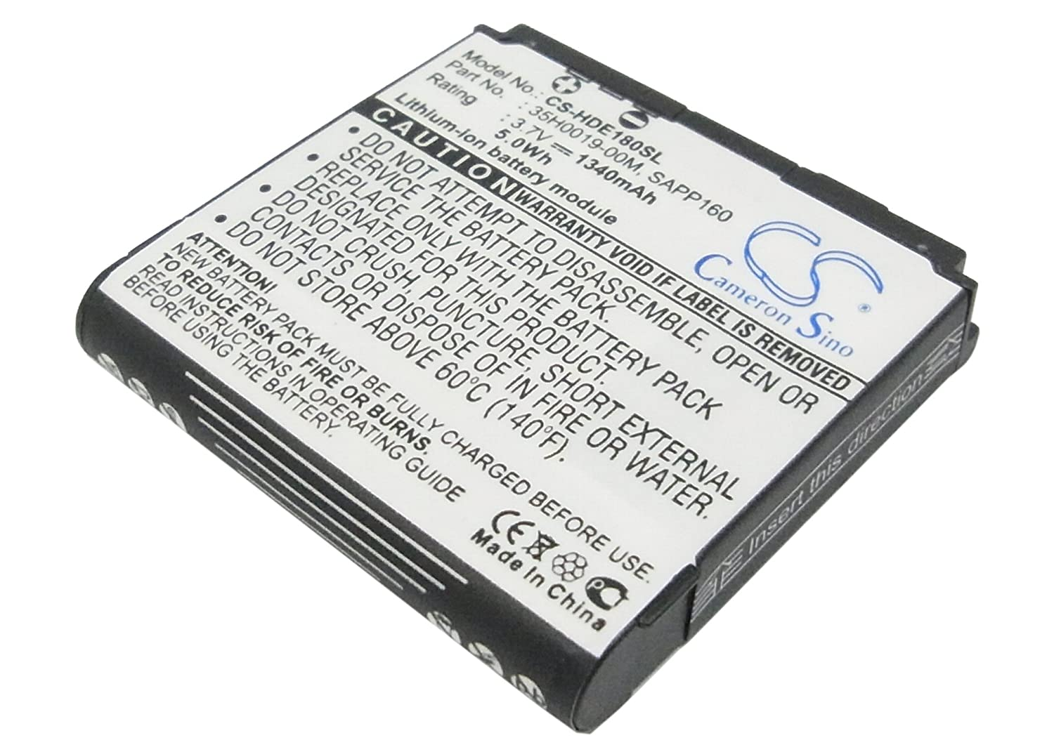 Cameron Sino 1340mAh Battery for T-Mobile Dash 3G, G1 Touch, MyTouch 3G
