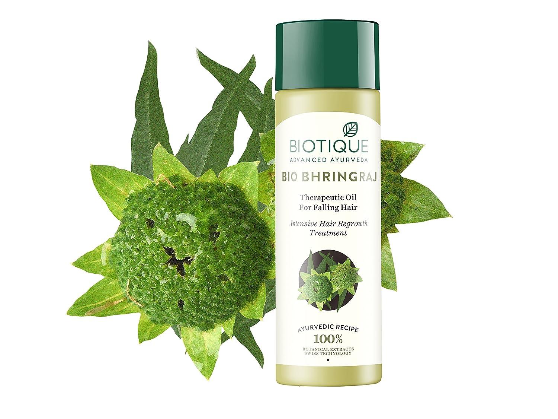 Biotique Botanicals Bhringraj Herbal Hair Oil 4.2-Ounce RETML120017