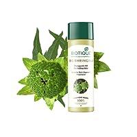 Biotique Bio Bhringraj Fresh Growth Therapeutic Oil for Falling Hair, 120ml