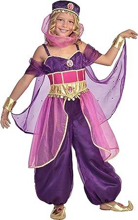 César - F447-003 - Disfraz Princesa Jasmine - 8/10 años: Amazon.es ...