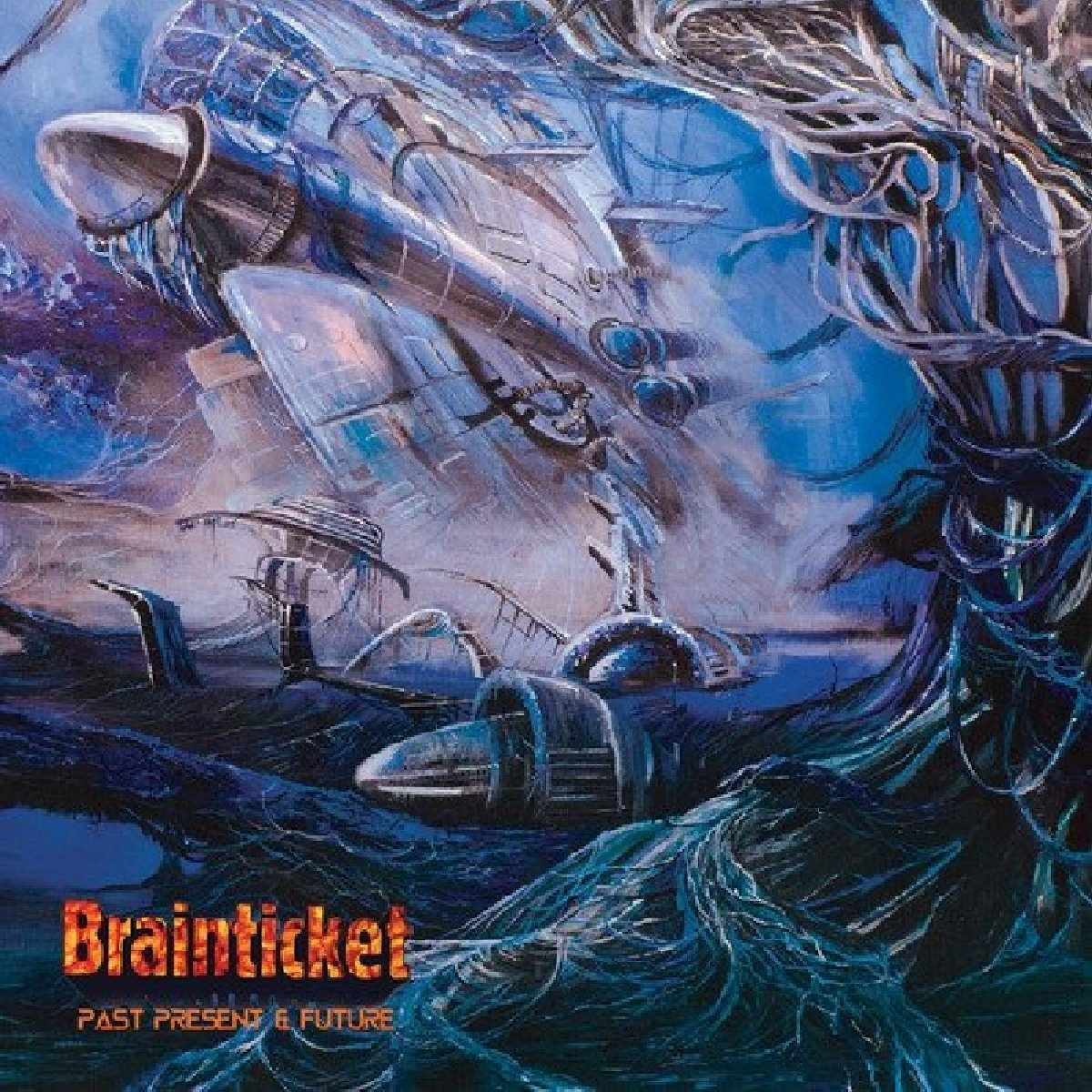 Vinilo : Brainticket - Past Present & Future (180 Gram Vinyl, Gatefold LP Jacket)
