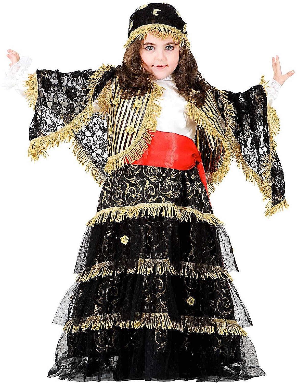 Carnevale Venizano CAV8921-L - Kinderkostüm ZINGARA Ricca - Alter: 7-10 Jahre - Größe: L