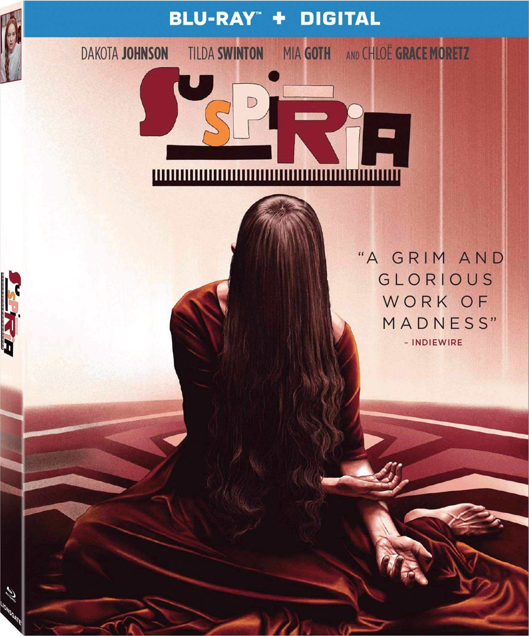 Blu-ray : Suspiria (Digital Copy)