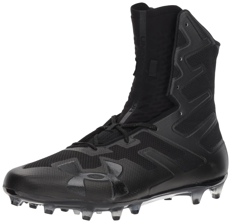 Under Armour Men's Highlight MC Football Shoe, (001)/黒, 8.5