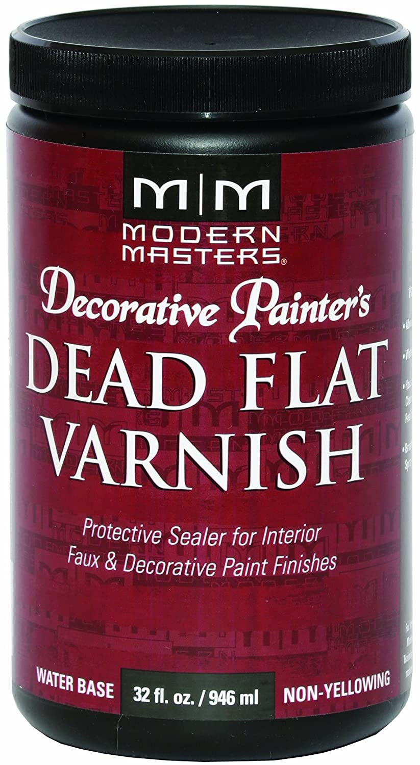 Modern Masters DP609-32 Dead Flat Varnish, 32-Ounce
