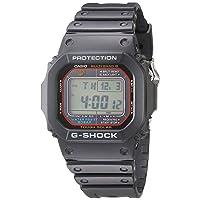 Men's G-SHOCK Quartz Watch with Resin Strap, Black, 20 (Model: GWM5610-1)
