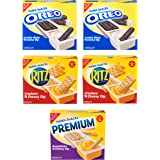 Handi-Snacks OREO, RITZ & Premium Variety Pack, 30 Snack Packs