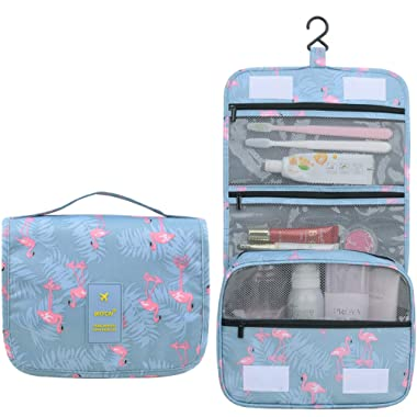Hanging Travel Toiletry Bag cute makeup bag Portable cosmetic Pouch Waterproof Organizer case toiletries accessories beauty hygiene shower Bag for Women Men
