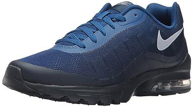 8b5c5f7f8be Nike Men s Air Max Invigor Print Running Shoe Gym Blue Wolf Grey Obsidian  7.5
