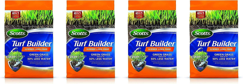 Scotts Turf Builder Summer Lawn Food, 4,000 sq. ft. 4 Pack