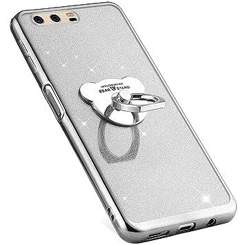 MoreChioce Huawei P10 Plus Funda,Glitter Carcasa para Huawei ...