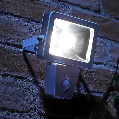 Auraglow Luz de Pared 10W LED al Aire Libre de Seguridad, de Bajo Consumo,