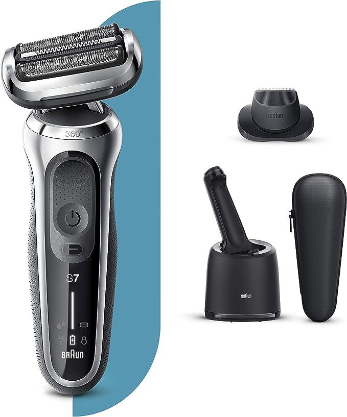 Braun Series 7 70-S7200cc Afeitadora Eléctrica, máquina de afeitar ...